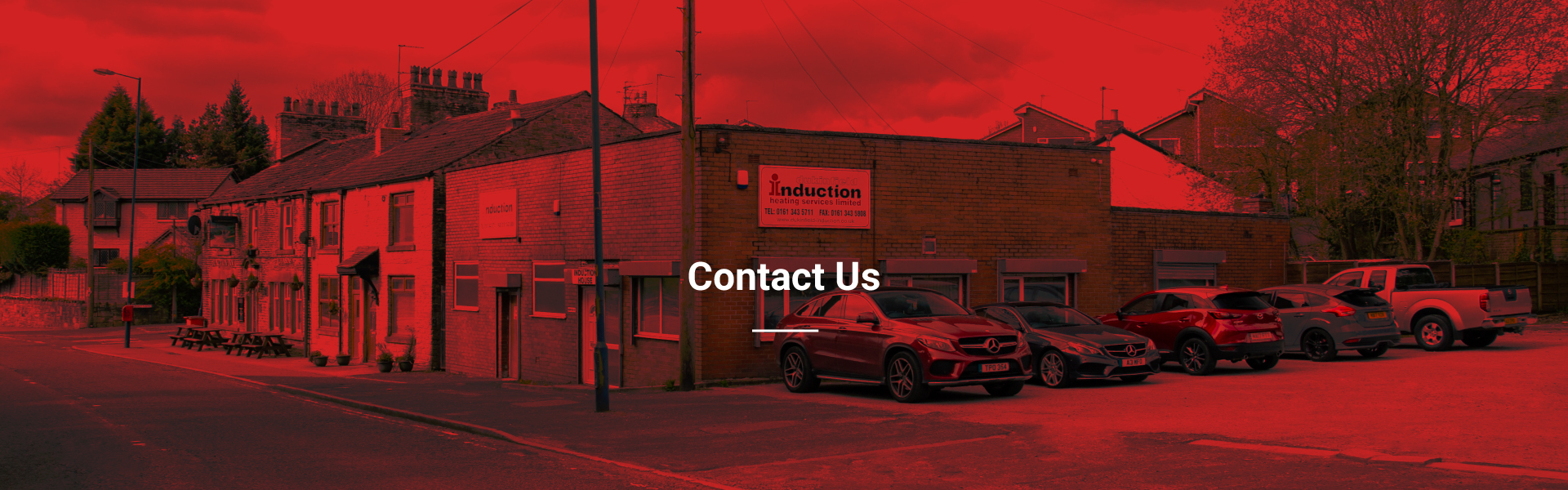 Header Banner for Contact us page